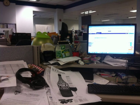 You know those movies about newsrooms? They are right about the messy desks and the piles of papers. In such a fast-paced industry, notes stack up quickly.