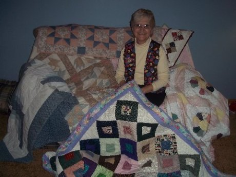 Shelia &amp Quilts 017