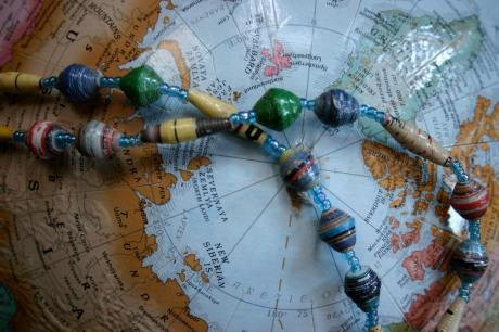 beads from Uganda
